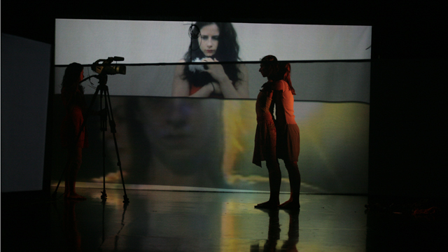 Findlay and Shemy integrate video, projection, and lighting elements with movement generated to date