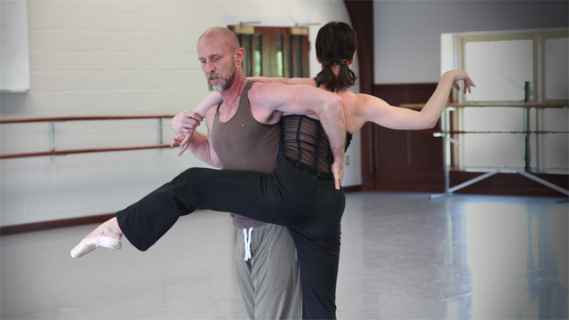 Penelope Freeh and Patrick Corbin share material developed for <i>Slippery Fish</i> in an Open Rehearsal