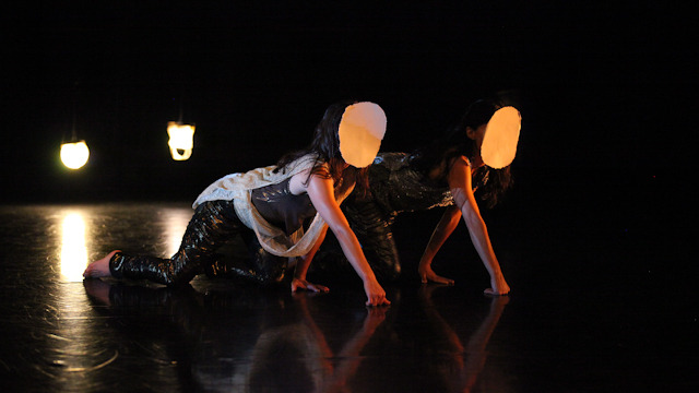 Emily Johnson and Aretha Aoki in residency for <i>Niicugni</i>