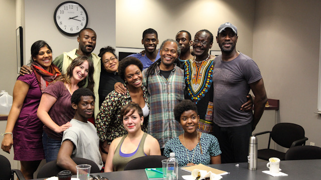Reggie Wilson/Fist and Heel, Residency Apprentice Yeman Brown and the FSU cohort group