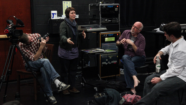 Chris Yon, Sara Smith, Dan Hurlin and David Bagnell discuss Informal Showing