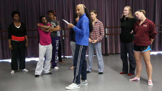 Darrell Jones leads an Observer Participant Rehearsal.