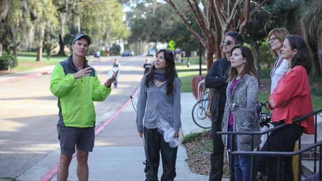 Johnson and Everest prepare participants for Landis Green clean-up