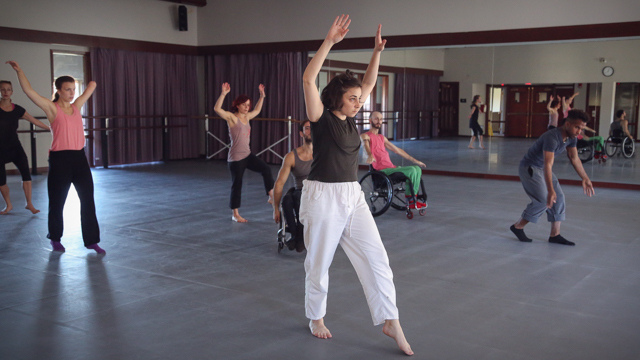Beth Gill leads AXIS dancers