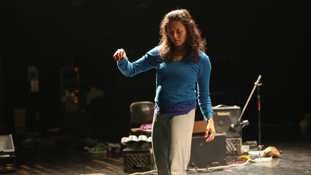 Michelle Boulé rehearses <i>Age & Beauty Part 2</i>