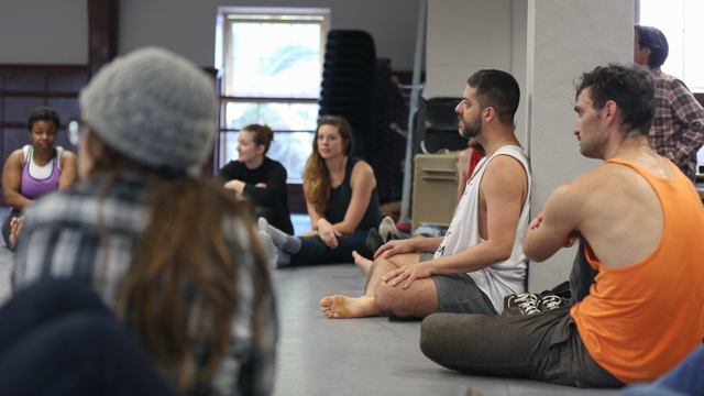 Miguel Gutierrez leads the <i>Queer Choreographies</i> workshop