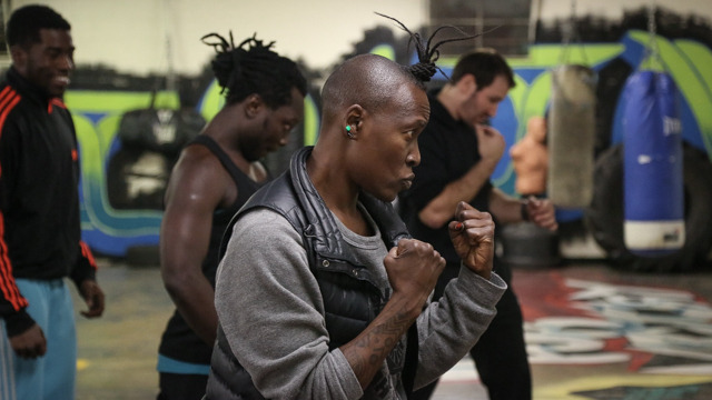 Chipaumire researches movement at Tallahassee's Renegade Boxing Gym