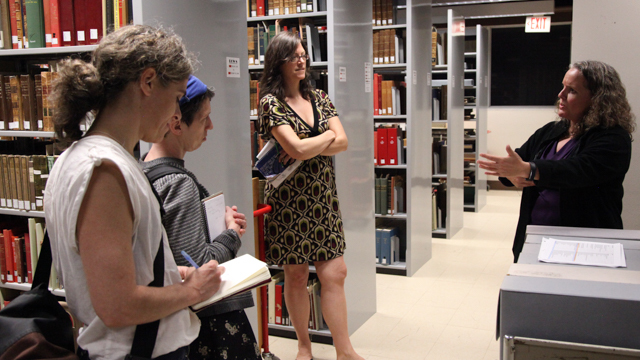 HIJACK meets with Associate Dean of Libraries for Special Collections & Archives Katie McCormick at Strozier Library