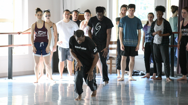 Collaborator Yeman Brown leads FSU master class