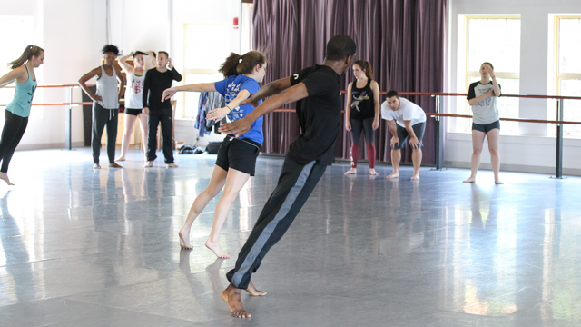 Yeman Brown teaches Fist and Heel master class