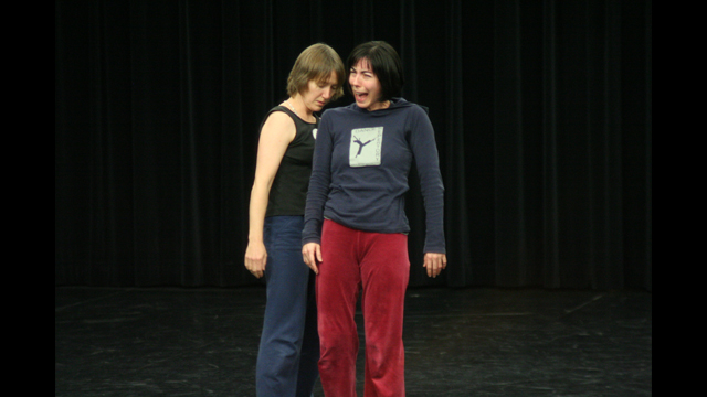 Janet Das and Christy Funsch in MANCC Choreographic Workshop.