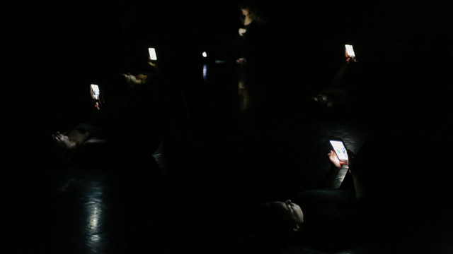 FSU students perform in work-in-progress showing with cell phones