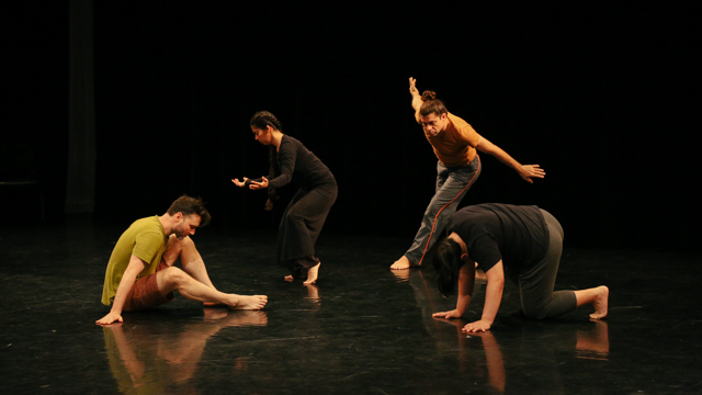 Performers in development of <i>Weave</i>