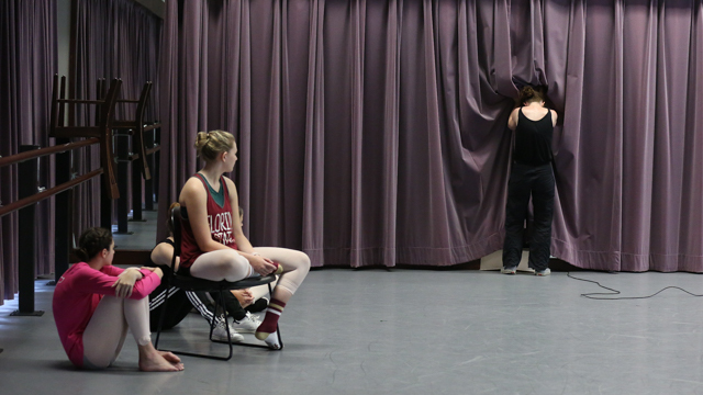 Jeanine Durning shares work with FSU's Summer Intensive Dance Workshop students