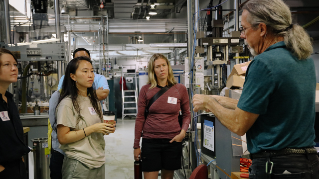 Forward Dialogues participants visit FSU's acclaimed National High Magnet Laboratory
