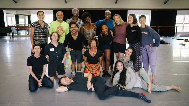 Group Photo of most of the MANCC Forward Dialogue artists and facilitators on the lab's closing day