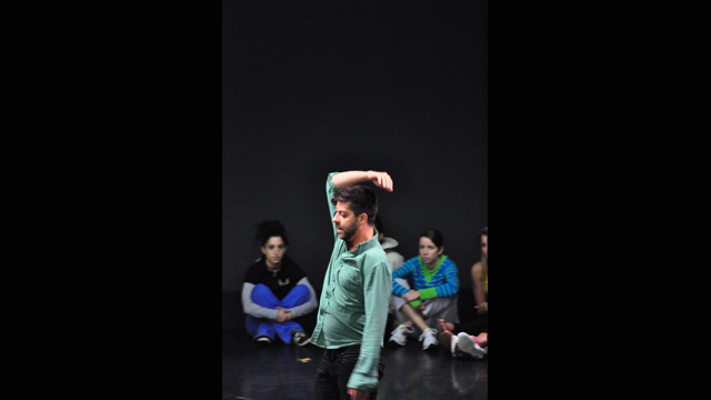 Gutierrez performs at FSU School of Dance Forum.