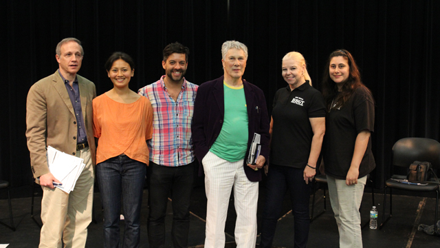 Dr. Richard Shusterman, Michelle Boulé, Miguel Gutierrez, Dan Wagoner, Betty Davis, Christine McVicker