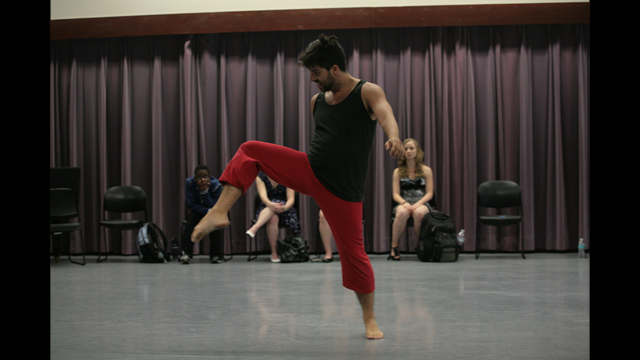 Miguel Gutierrez performs as part of Informal Showing.