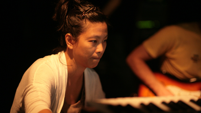 Electronic Musician and Composer Bethany Lacktorin.