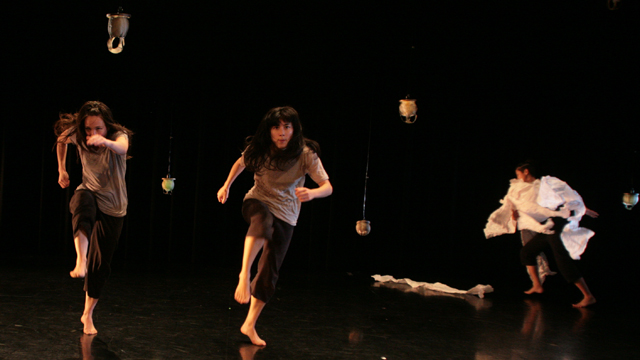 Emily Johnson, Aretha Aoki, and Bethany Lacktorin share movement generated to date.