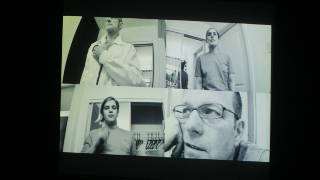 Kevin Obsatz's video montage of hotel room scores shot by Mayer's performers
